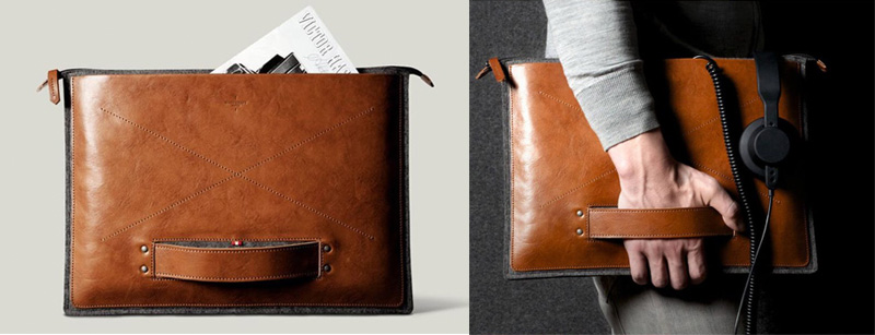 Leather Zipper Folio Business Gifts Idea Buzznfun