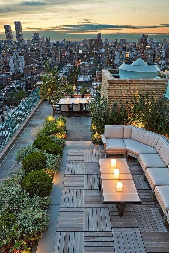 Rooftop Garden Ideas Part - 47: Rooftop-garden Courtesy Of: Pinterest.com